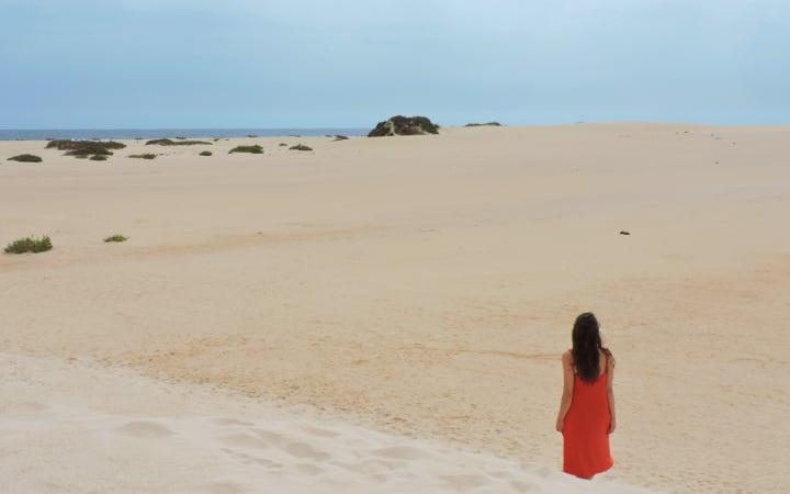 Dunas del Corralejo en Fuerteventura