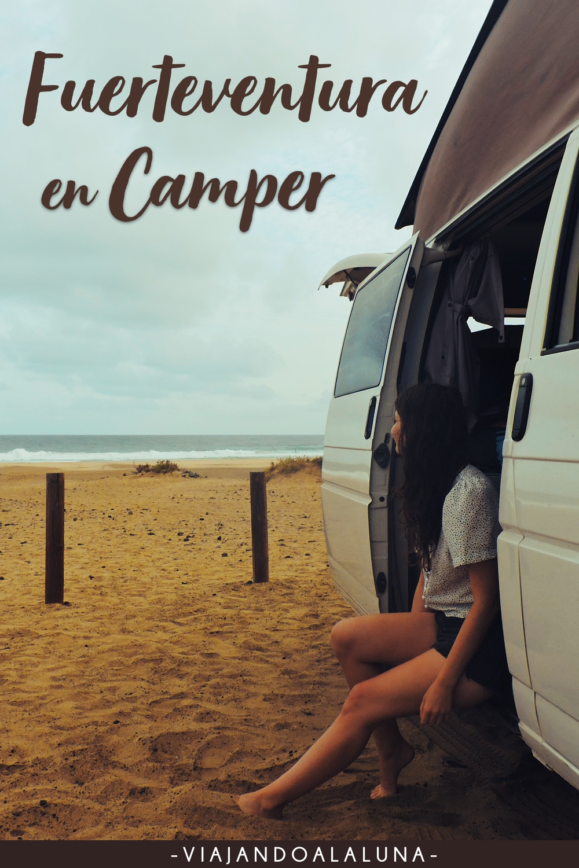 Recorrer Fuerteventura en furgoneta camper