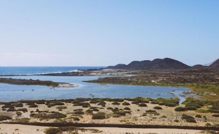 Vistas de Isla de Lobos