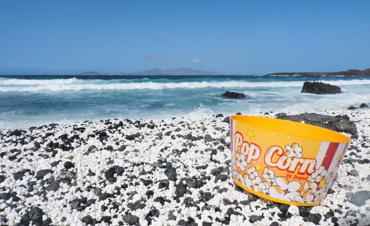 Playa Pop Corn en Fuerteventura