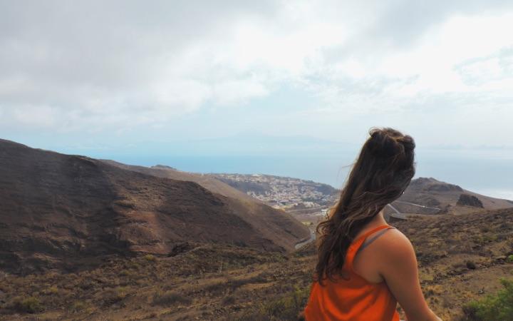 Vistas de San Sebastian de La Gomera