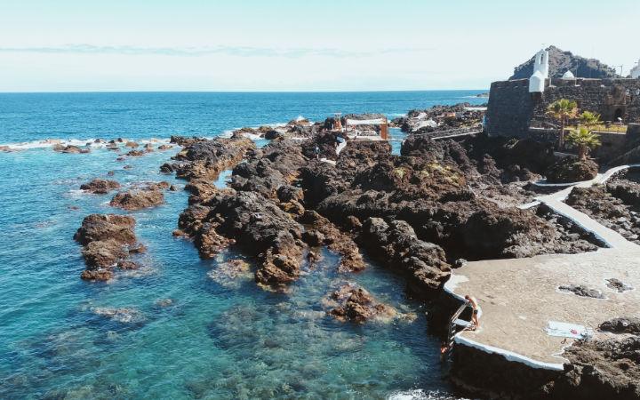 Piscinas de Garachico en Tenerife