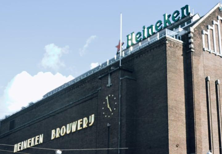 Fabrica de Heineken en Ámsterdam