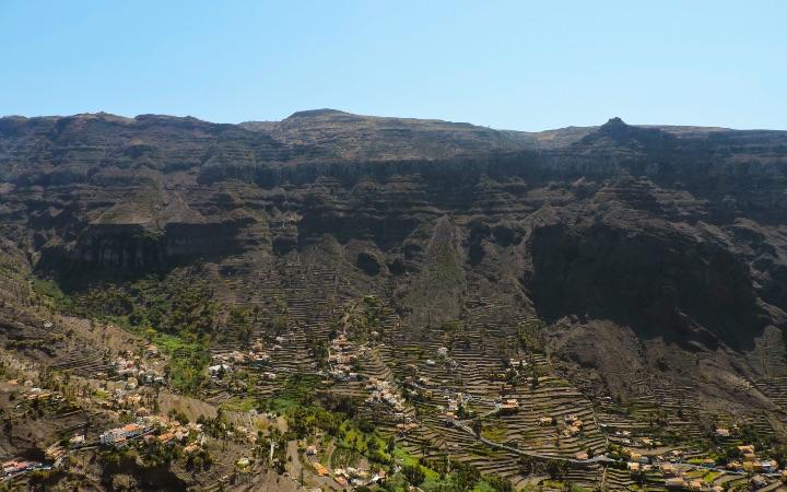 Valle del Gran Rey en La Gomera