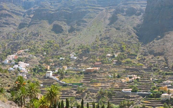 Valle del Gran Rey, final de nuestra ruta por La Gomera