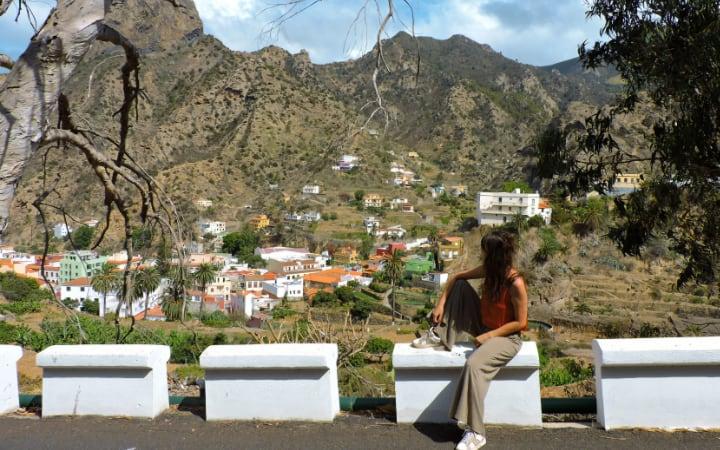 Vallehermoso en La Gomera