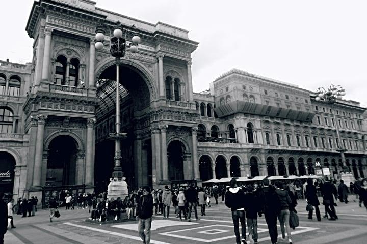 galeria Vitorio Emanuele Milán