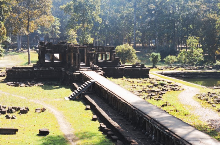 Pasarela del templo Baphuon