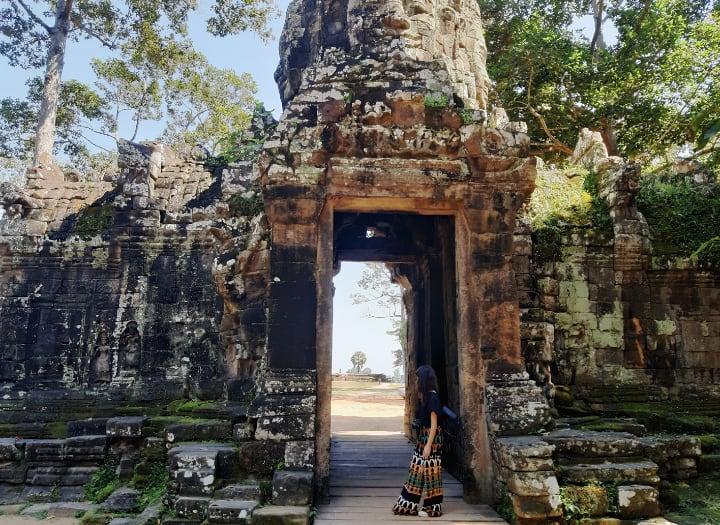 Entrada al templo Banteay Kdei