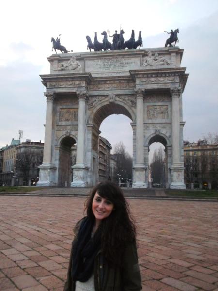Arco del Triunfo de Milán