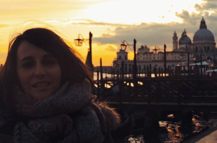 Atardecer de Venecia en Piazza San Marco