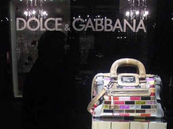 Tienda del cuadrilátero de la moda en Milan