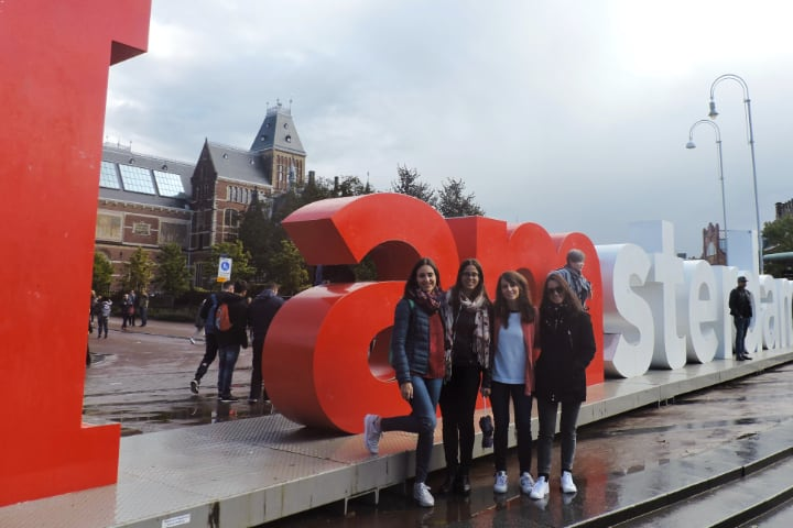 Letras I am Ámsterdam