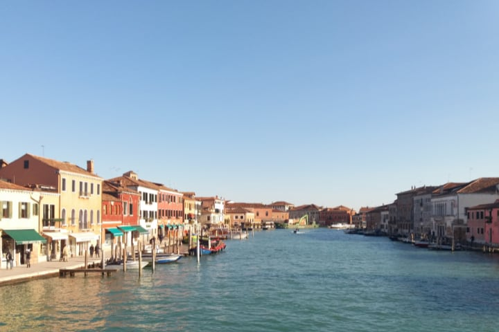 Canal de la isla de Murano