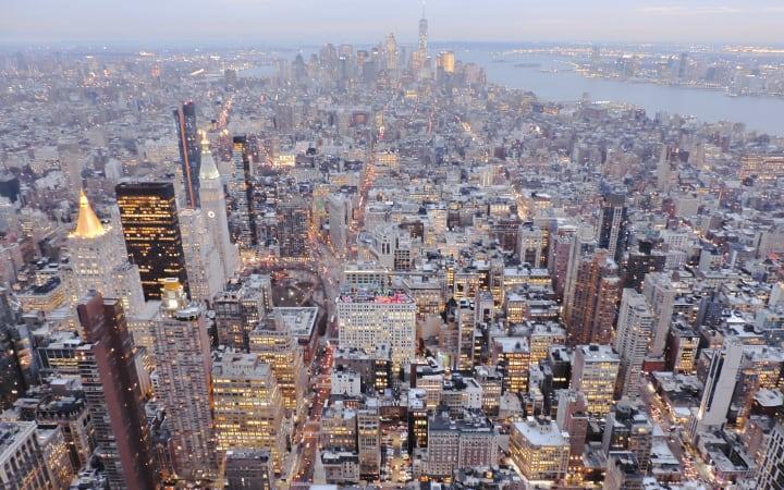 Rascacielos de Midtown en Manhattan