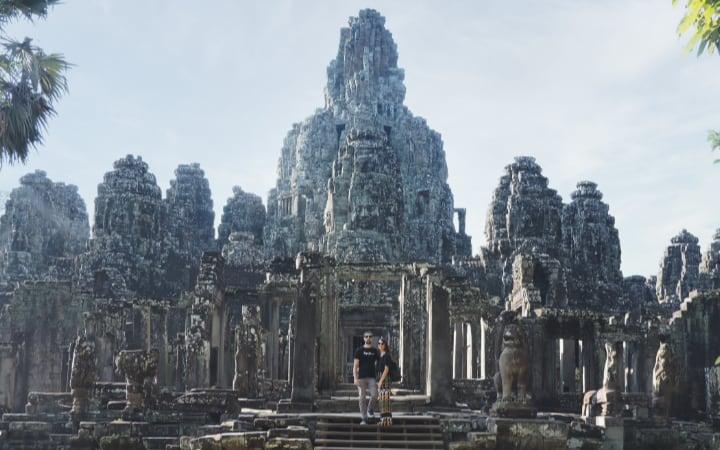 Templo Bayon en Angkor