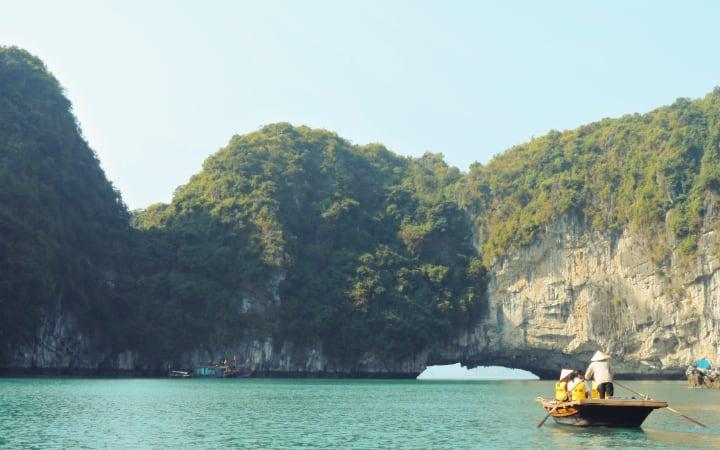 Paisaje de Bai Tu Long
