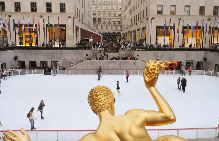 Plaza de Rockefeller Center