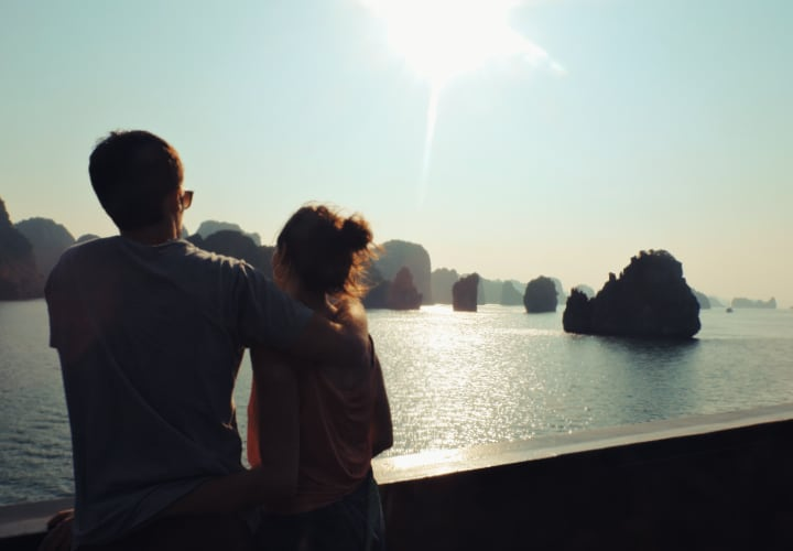 Experiencia en la bahía de Halong