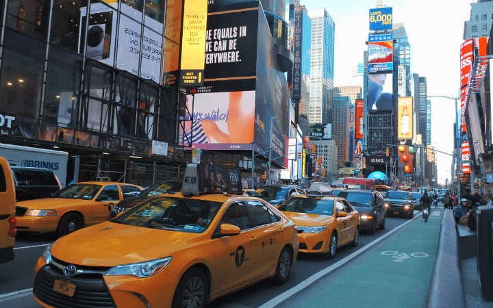 ruta por Midtown Manhattan