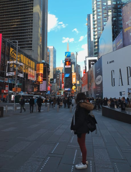 Times Square de día