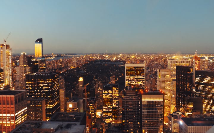 Vistas de Midtown Manhattan desde Rockefeller Center