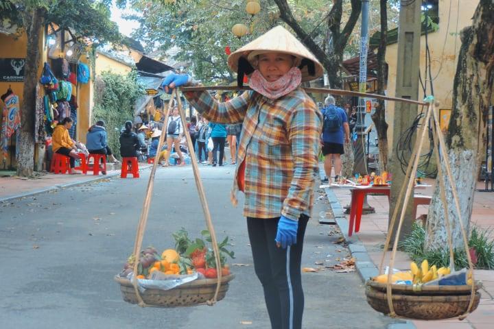 Vendedora de Vietnam