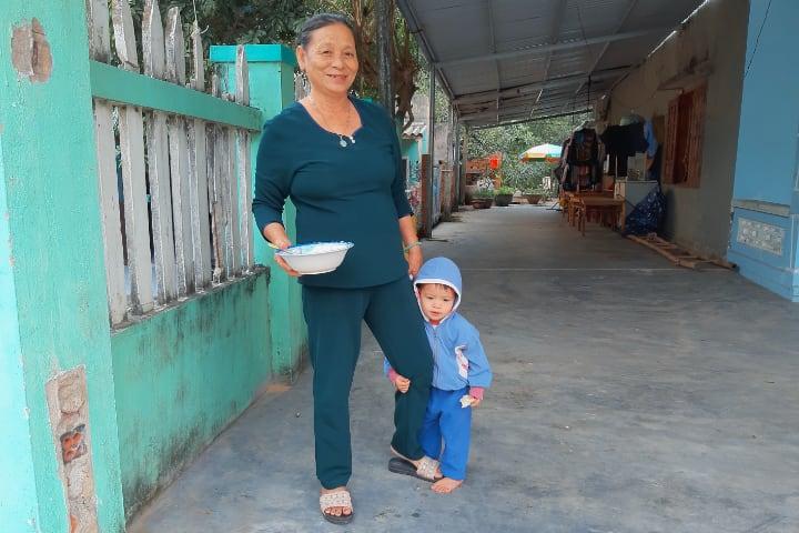 Familia en Vietnam
