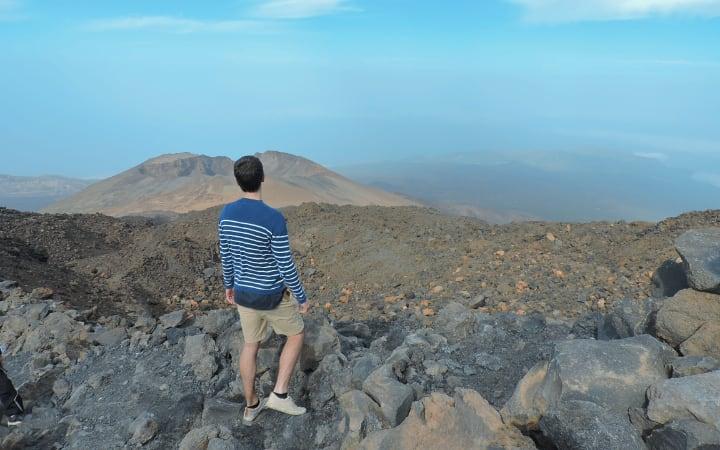 Antiguo cráter pico Viejo del Teide