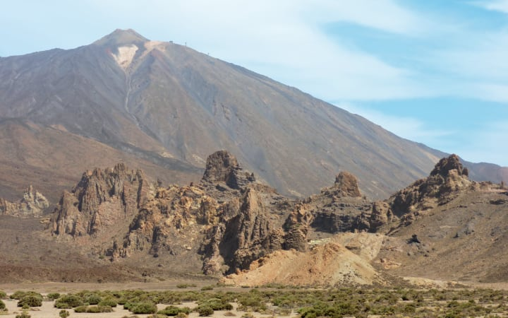 Guía para visitar el Teide