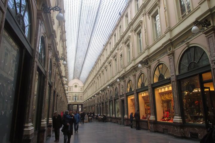 Galerías Reales Saint Hubert Bruselas