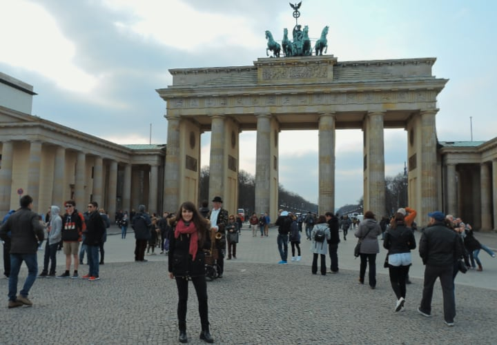 Puerta de Brandeburgo, icono de Berlín