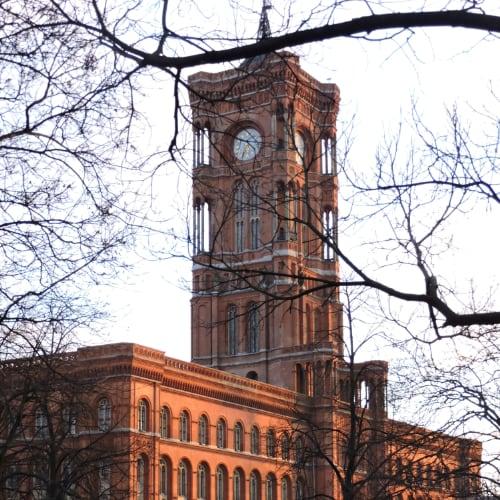 Rotes Rathaus, el ayuntamiento de Berlín