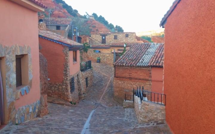 Calles y casas de Anento