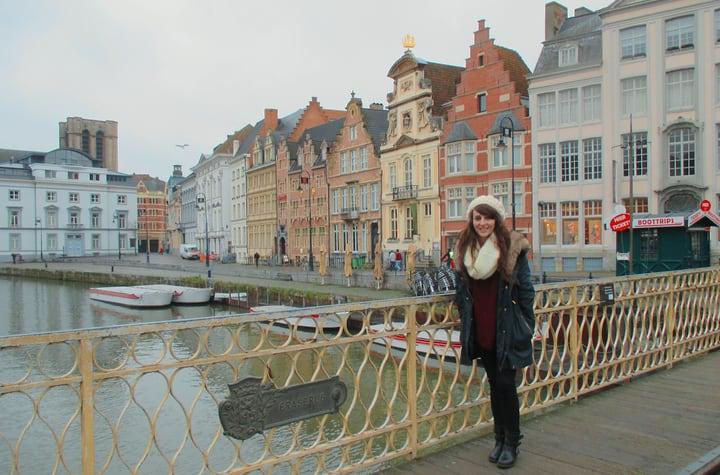 Casas de Gante en Bélgica
