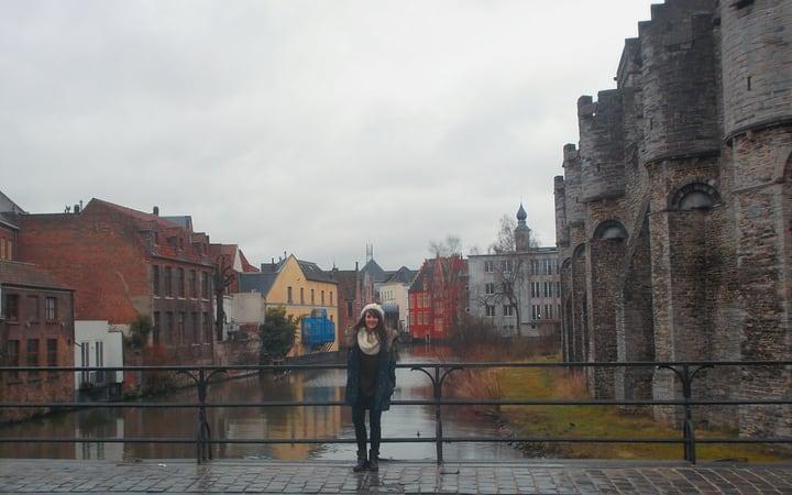 Ruta por Gante Bélgica