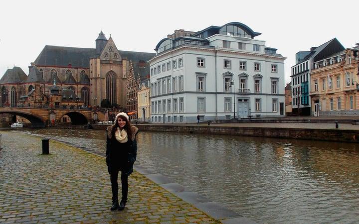 Canales de Gante en Bélgica