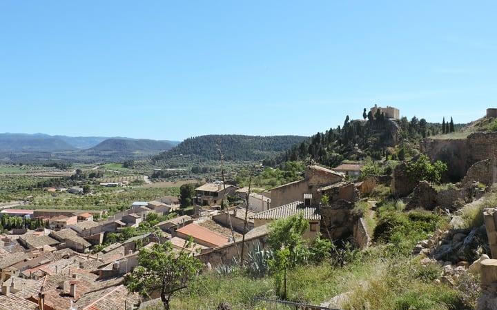 Vistas de la comarca del Matarraña