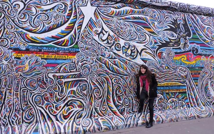 Mural muro de Berlín
