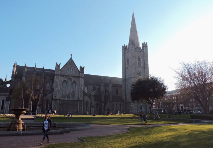 Catedral de St. Patricks de Dublin