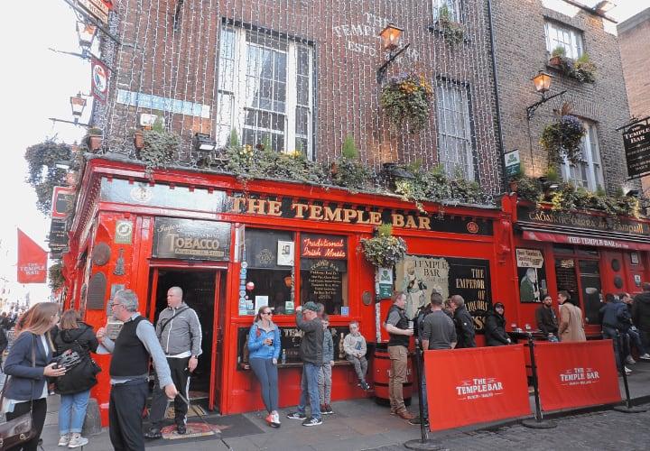 Temple Bar, un icono de Dublín
