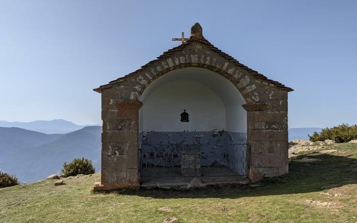 Ermita De Santa Barbara antes de Santa Orosia