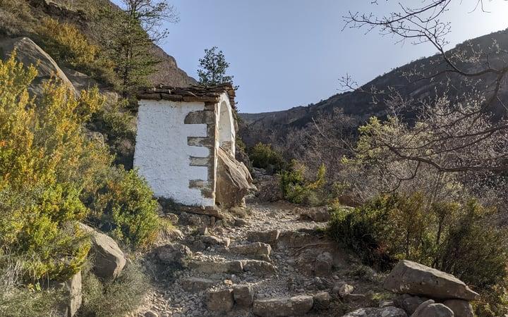 Ermita de las Arrodillas ruta ermita de Santa Orosia