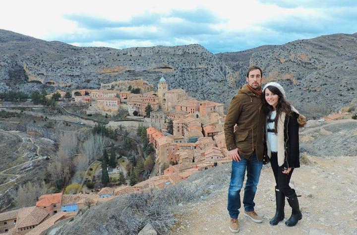 Vistas desde la muralla de Albarracin