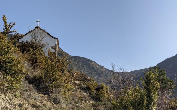 Ermita de Escoroniellas ruta ermita de Santa Orosia