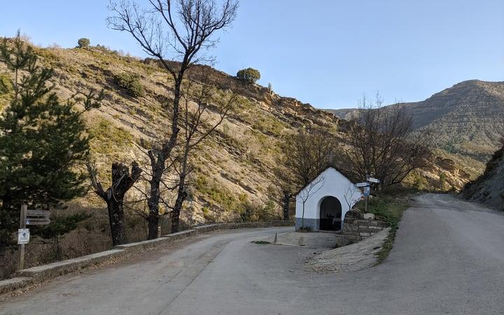 Ermita del Augusto ruta ermita de Santa Orosia