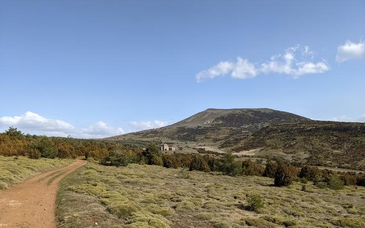 Ultimo tramo ruta de las ermitas de Yebra de Basa
