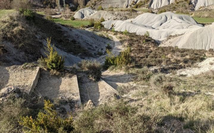 Margas y campos, primer tramo desde Yebra