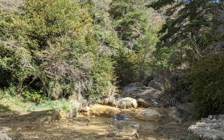 Riachuelo camino de la ermita de Santa Orosia