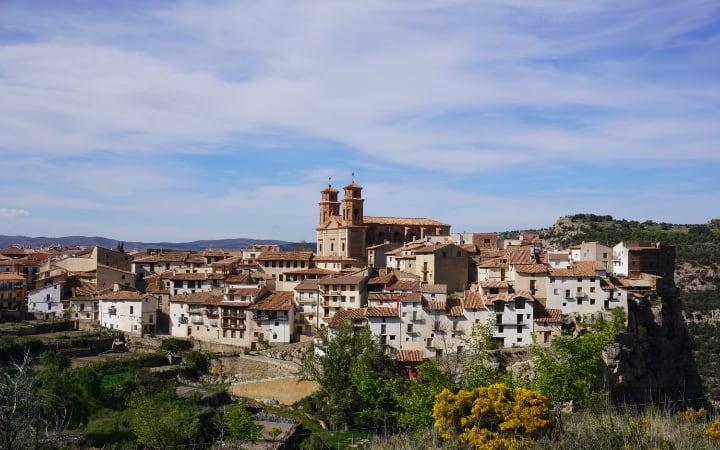 Villarluengo pueblo del Maestrazgo de Teruel